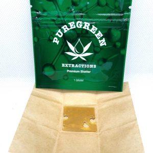 PureGreen Extractions Premium Shatter 1 gram