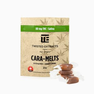 Twisted Extracts Cara Melts Sativa THC infused Gummies