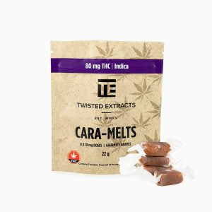 Twisted Extracts Cara Melts Indica THC infused Gummies